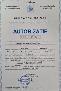 Autorizatie curs